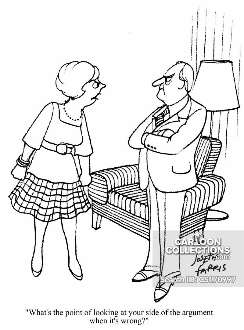 wrongly cartoon