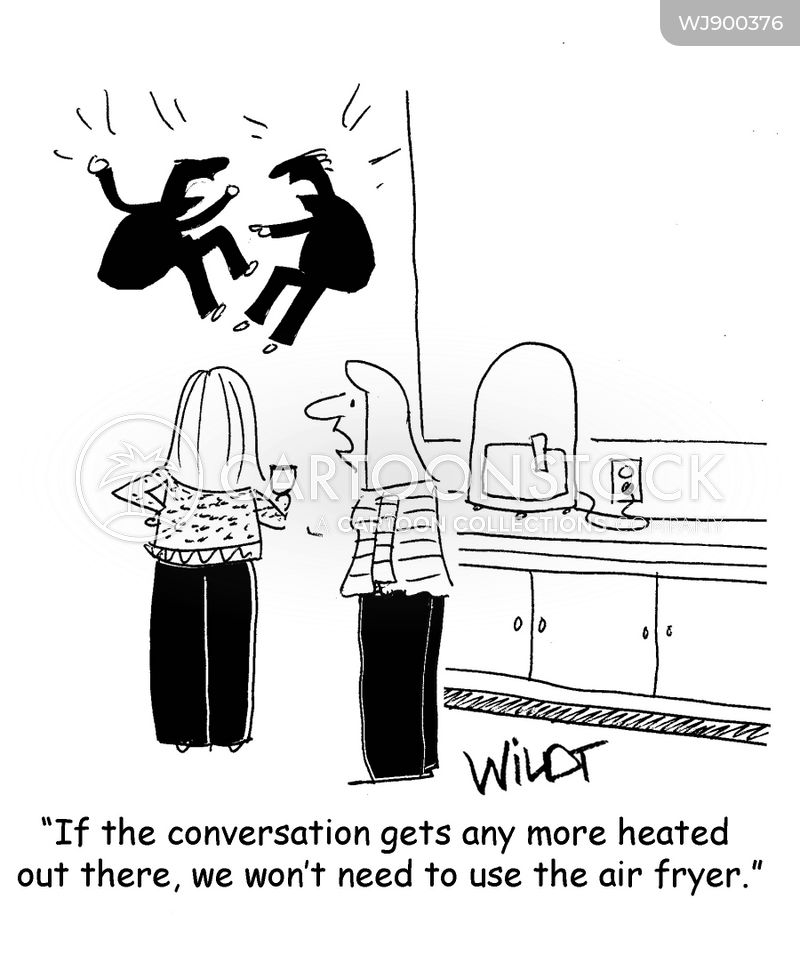 hot air cartoon