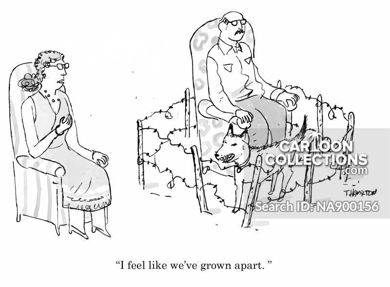 communication breakdown cartoon