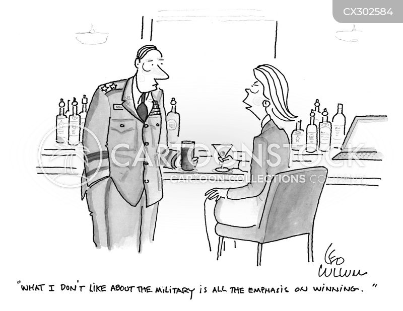 armed forces cartoon