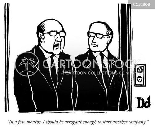 start-up cartoon