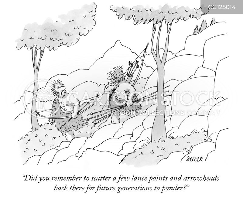archaeologist cartoon