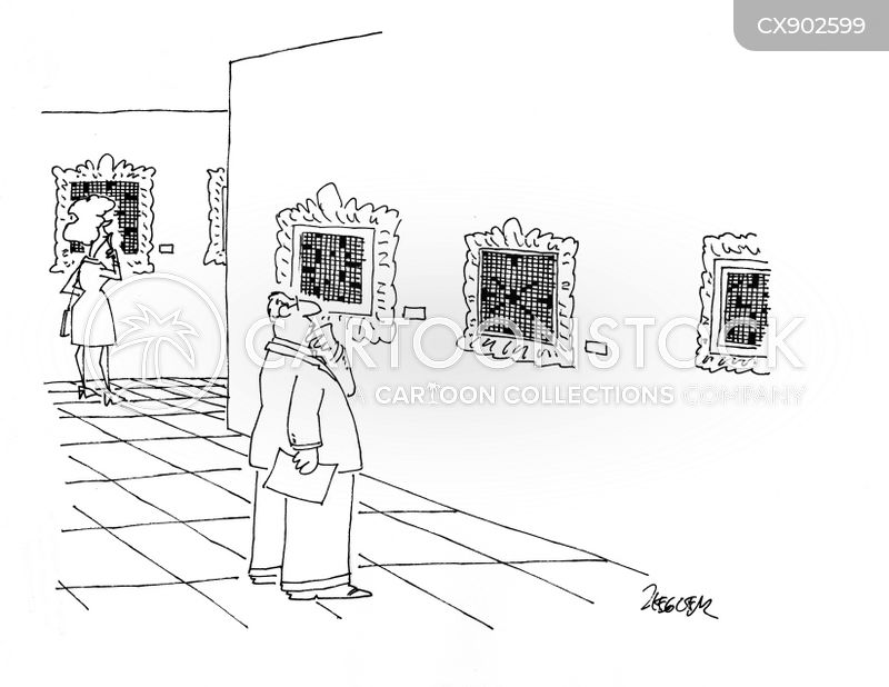 art collections cartoon