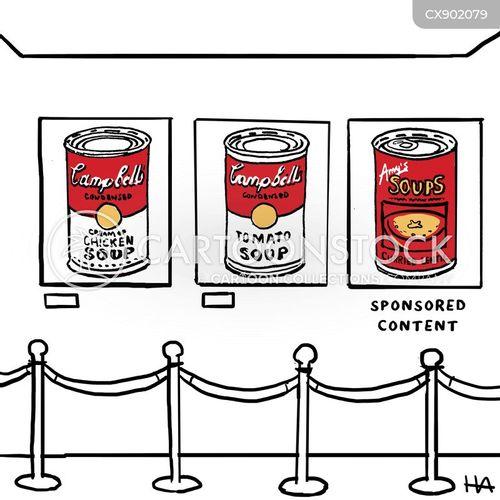 sponsored content cartoon