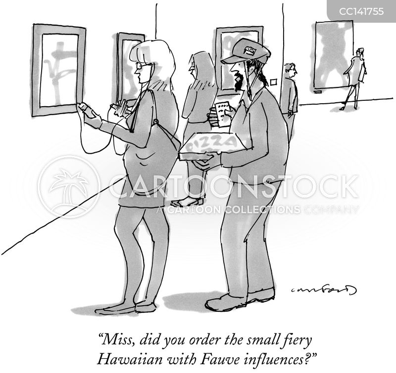 delivery cartoon