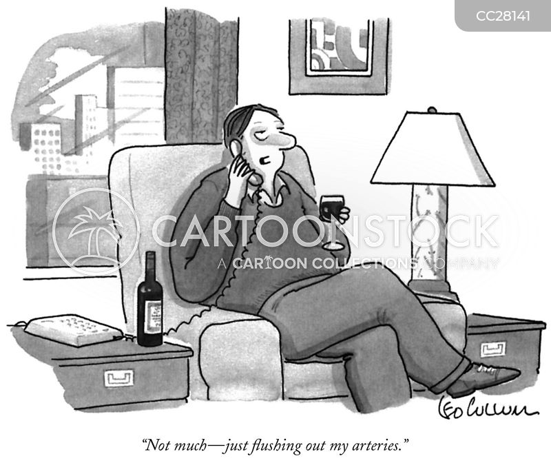 wine cartoon