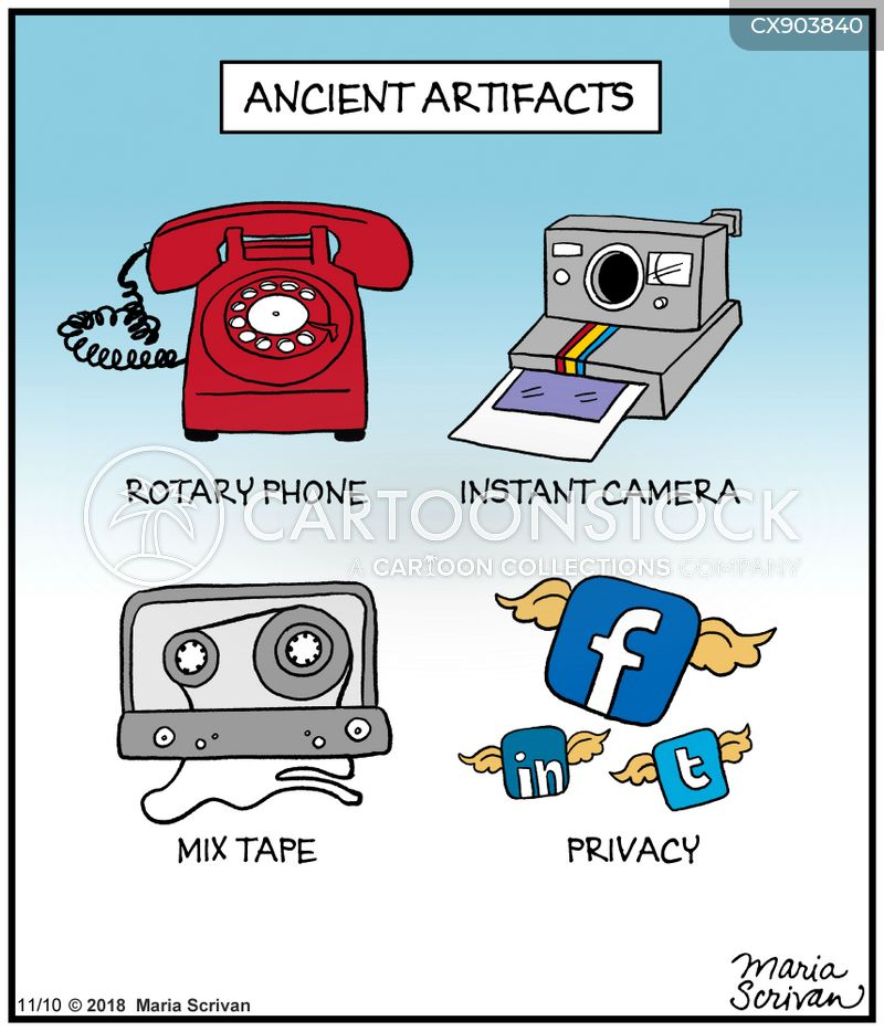instant cameras cartoon