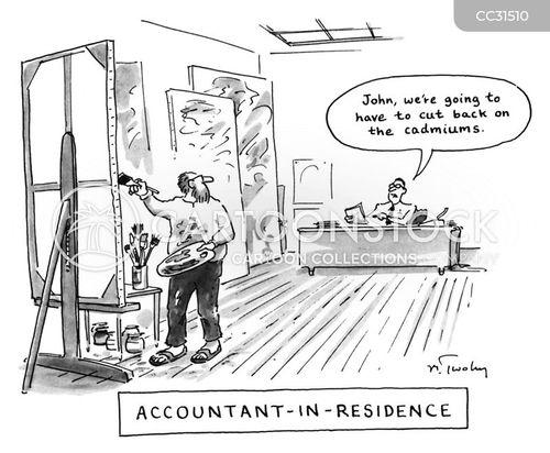 in-residence cartoon