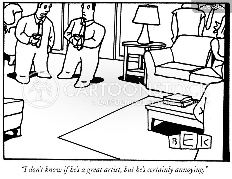artistic temperament cartoon
