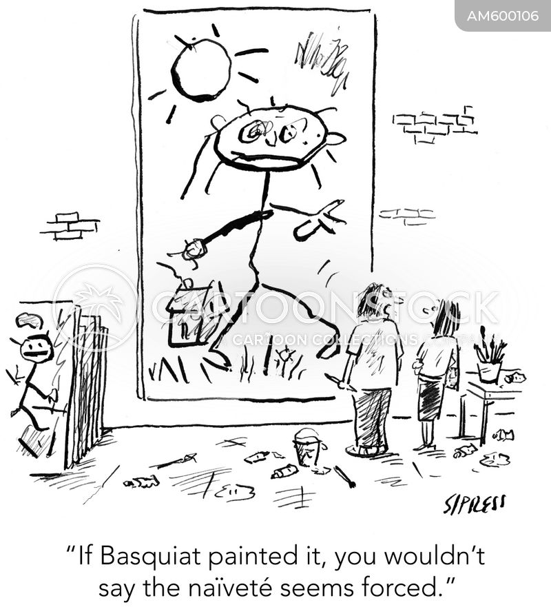 art critics cartoon
