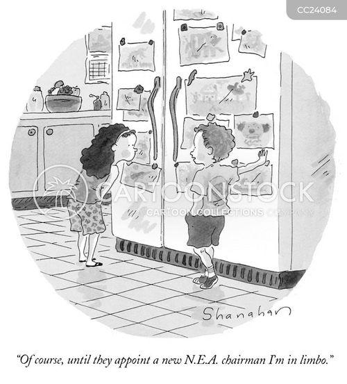 art funding cartoon