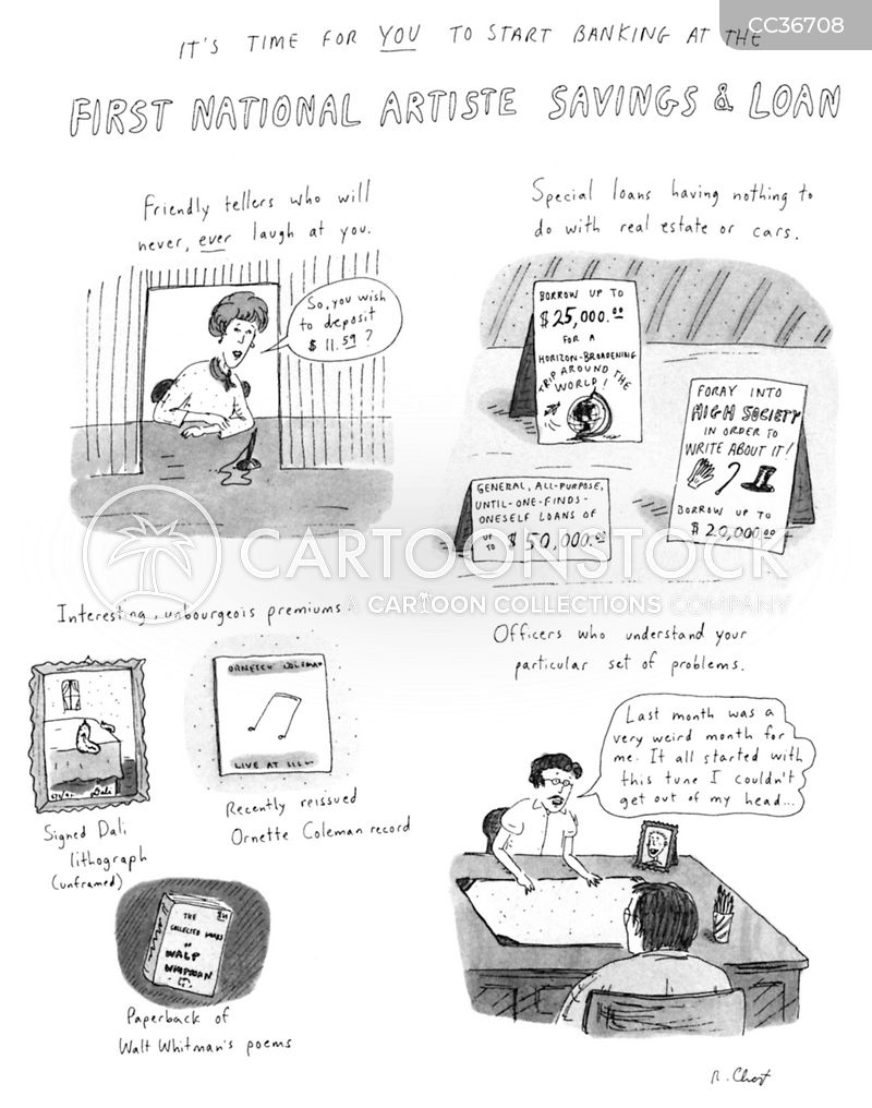 credit risk cartoon