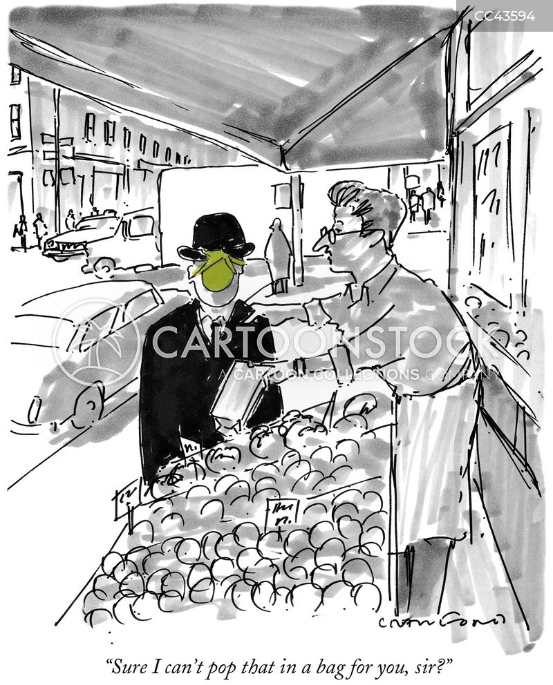 grocers store cartoon