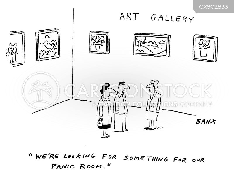 auction house cartoon