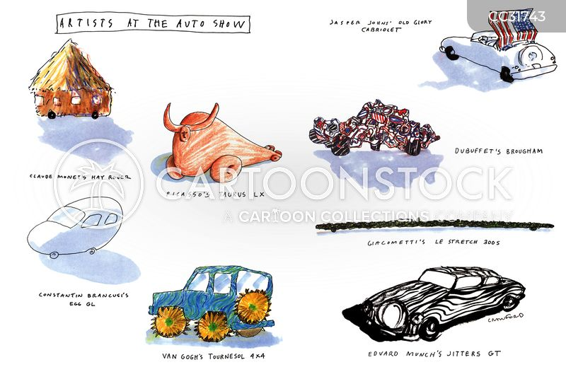 concept cars cartoon