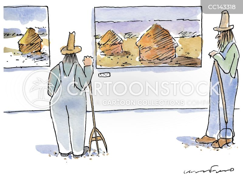 impressionist cartoon