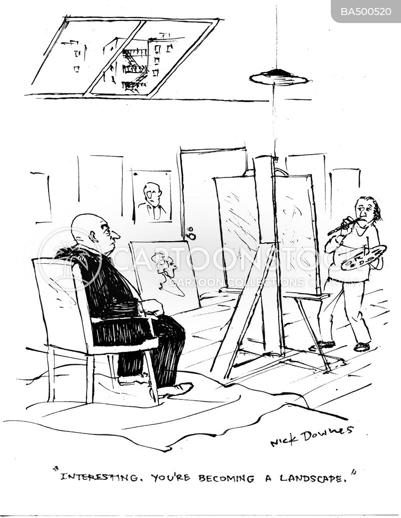artistic license cartoon