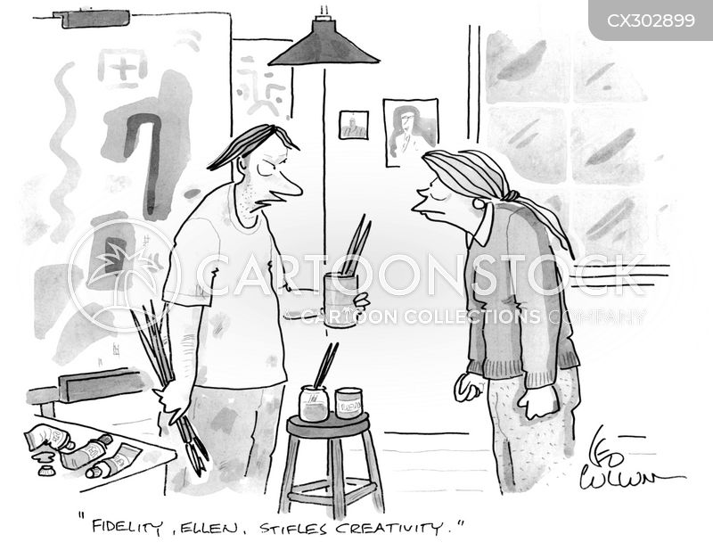 fidelity cartoon