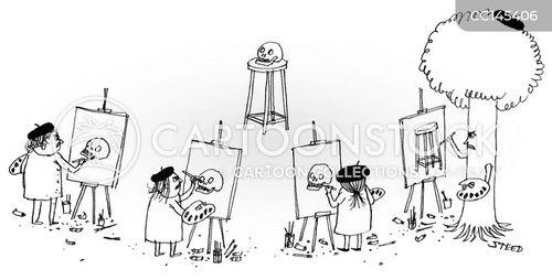 skeleton cartoon