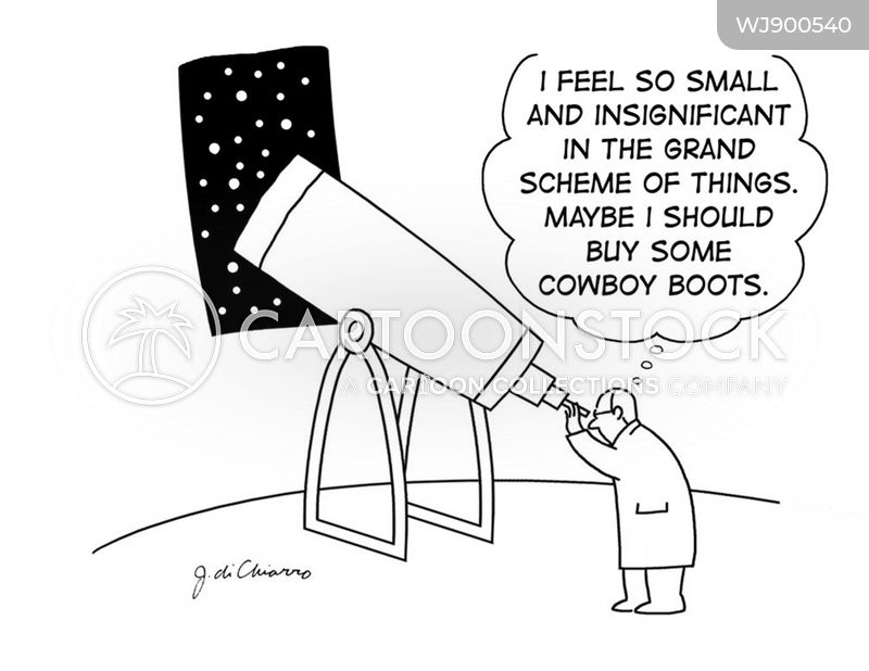 insignificant cartoon