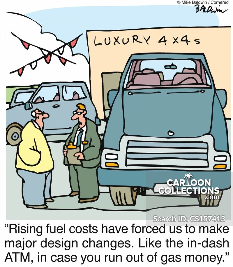 Rising Fuel Costs cartoon