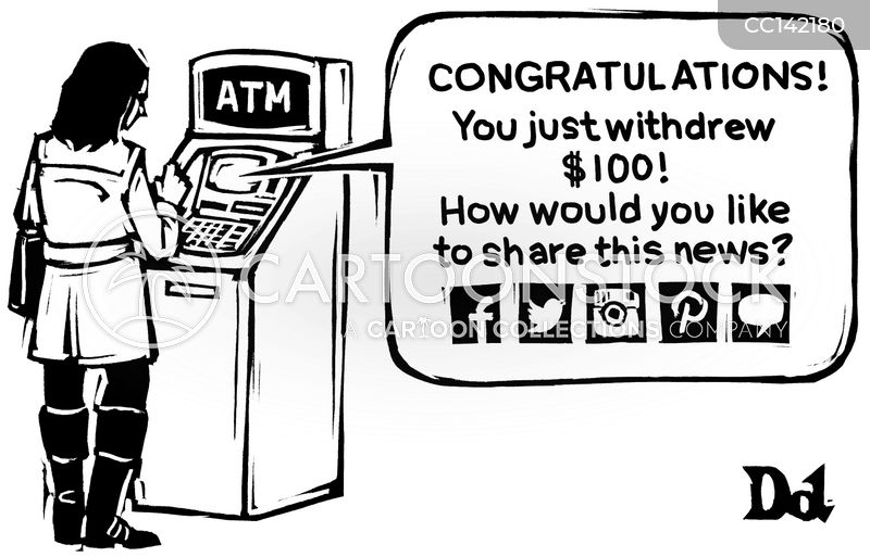 atm cartoon