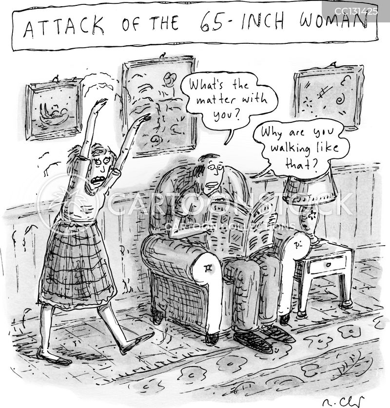 attacks cartoon