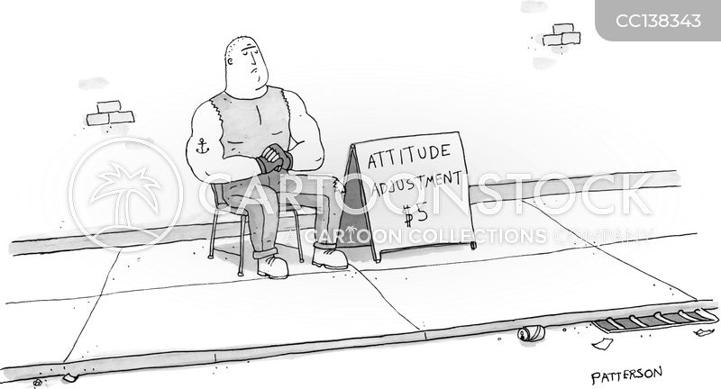 attitudes cartoon