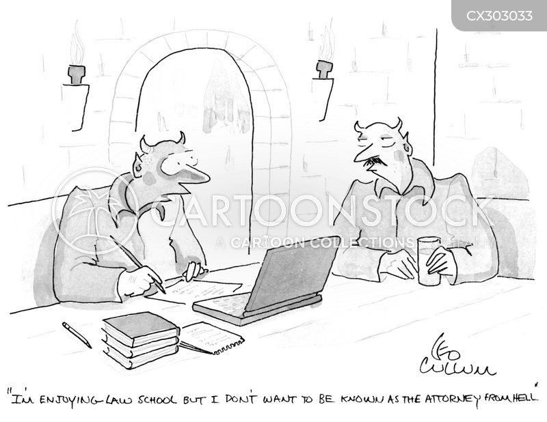 the devil cartoon