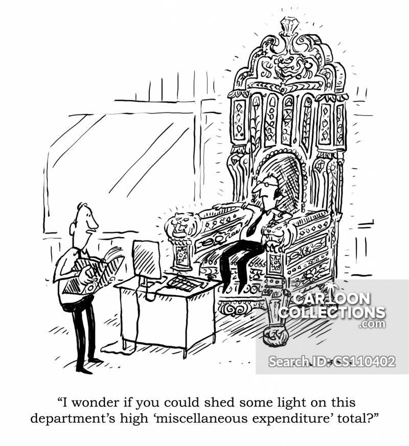 Expenses Accounts Cartoons