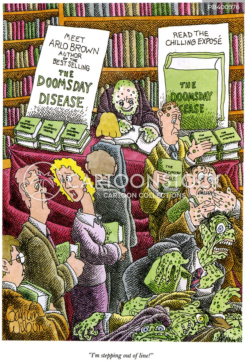apocalyptic disease cartoon