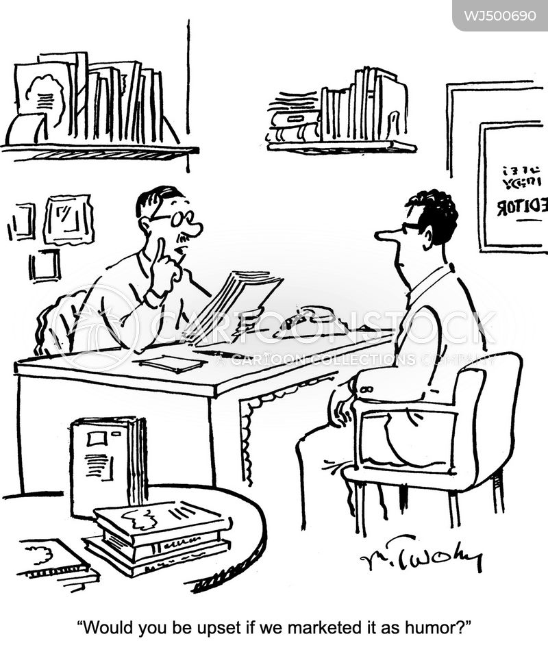 bad writer cartoon