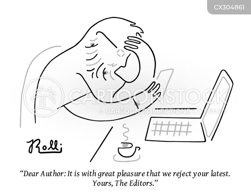 aspiring authors cartoon
