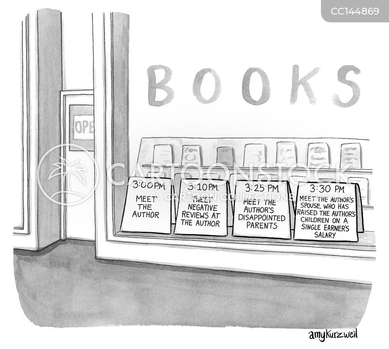 literacy cartoon