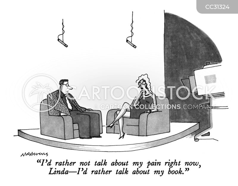 Interviewees cartoon
