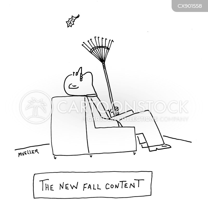 the fall cartoon
