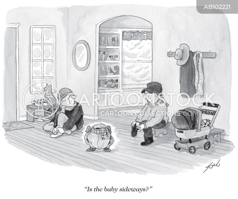 """""""Is the baby sideways?"""""""