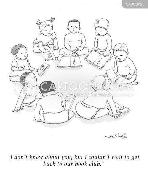 reading age cartoon