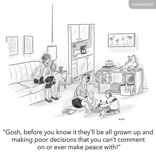 observe cartoon