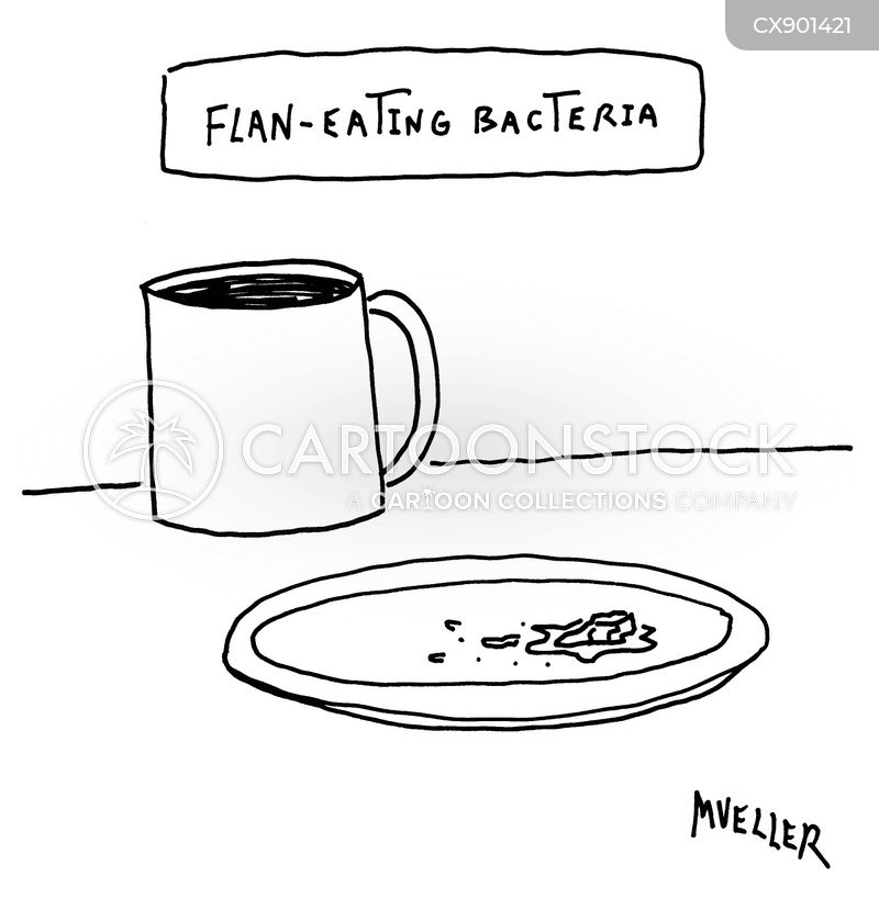 bacteria cartoon