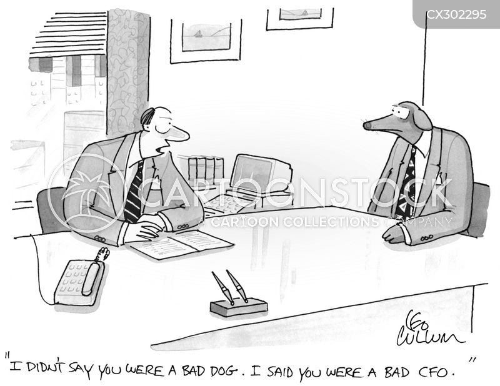 bad dog cartoon