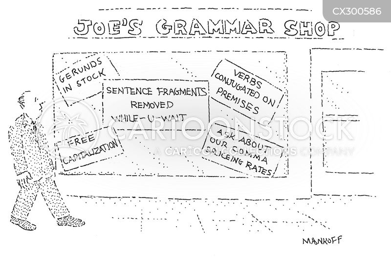 grammar nazis cartoon