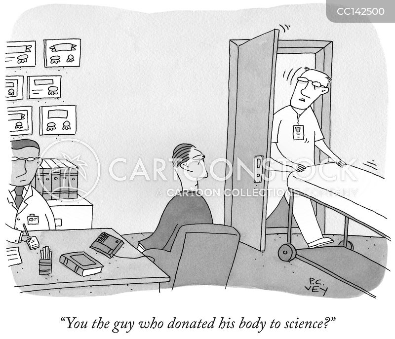 donate to science cartoon