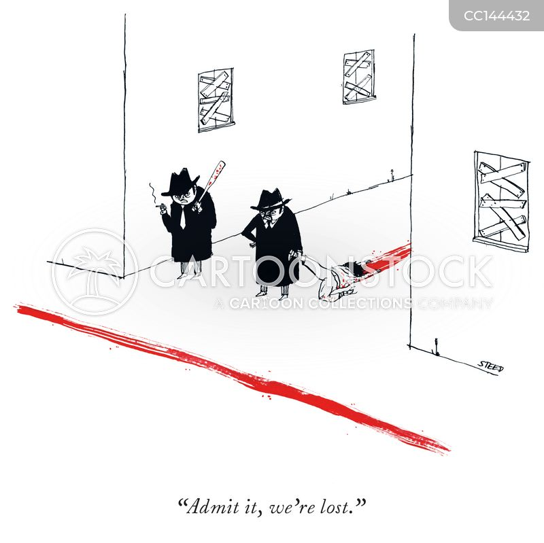 sense of direction cartoon