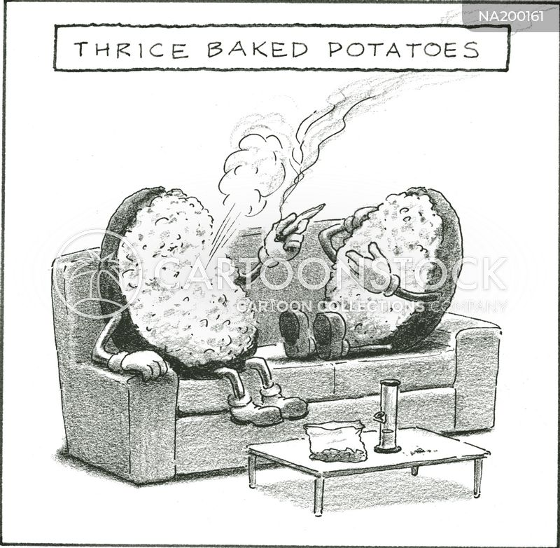 jacket potato cartoon