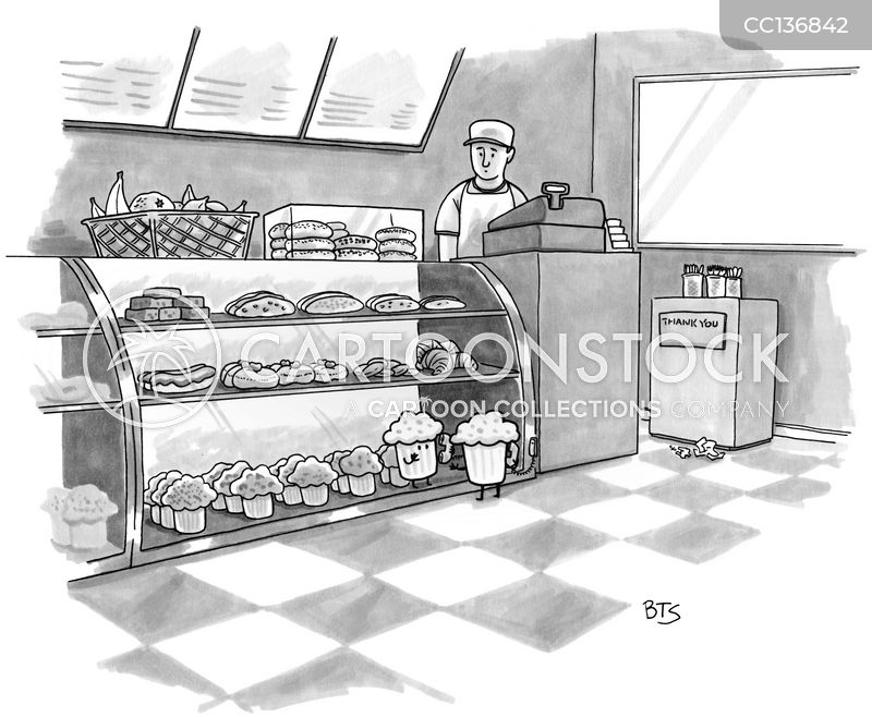 pastry shops cartoon