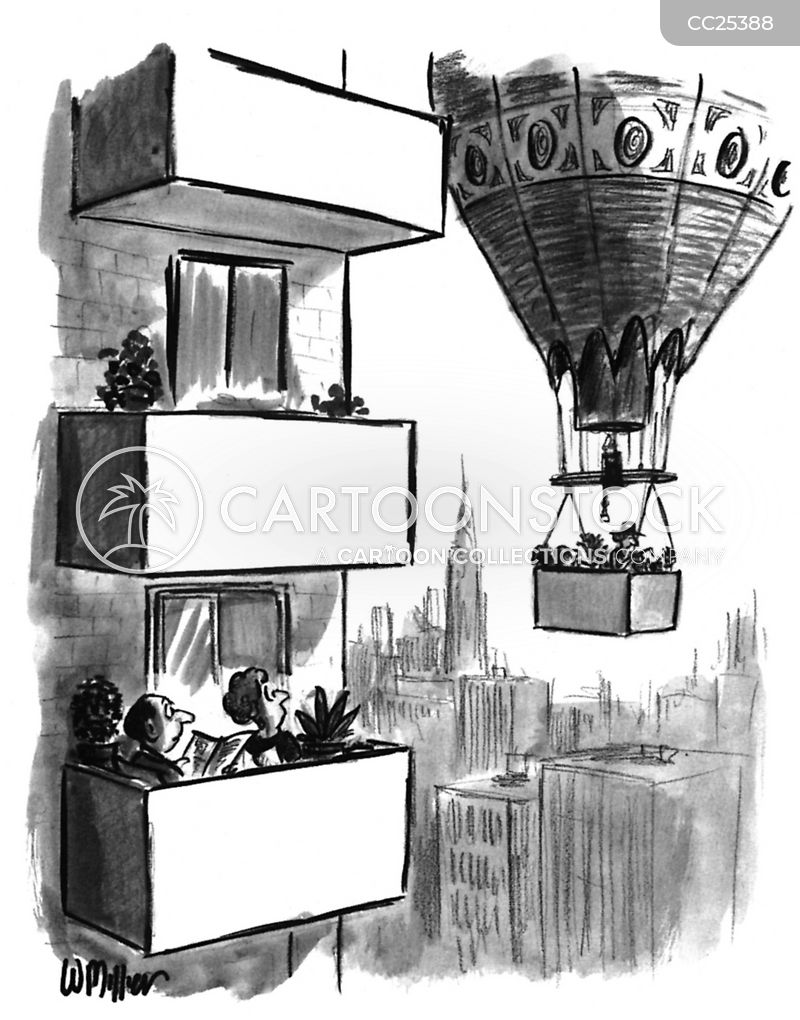 balconies cartoon