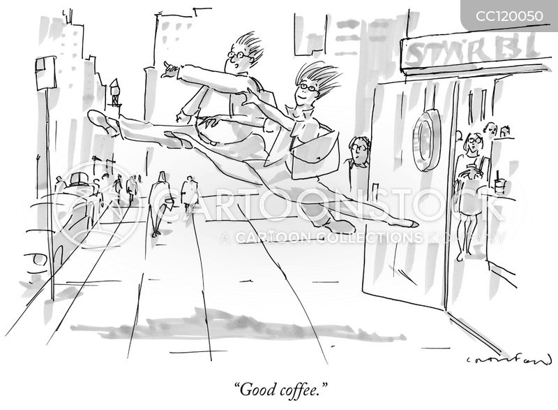 Ballet cartoon