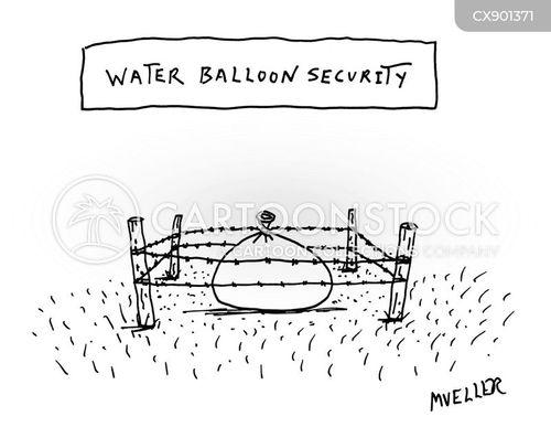 secure cartoon