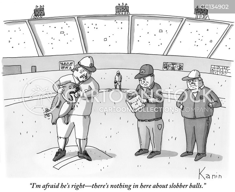 rules of baseball cartoon